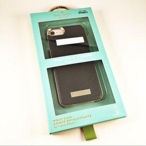 ⭐️NWT Kate Spade Black & Gold iPhone 7/8 Case